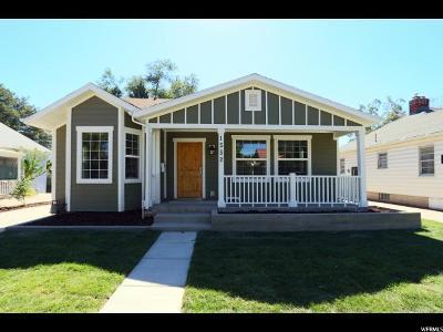 Sugar House Single Family Home Backup: 1552 E Redondo S