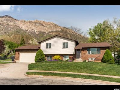 North Ogden Single Family Home Under Contract: 1223 E 3075 N