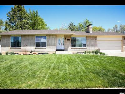 Kaysville Single Family Home Under Contract: 28 W 600 N