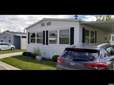 Roy Single Family Home Under Contract: 3800 S 1900 W #136