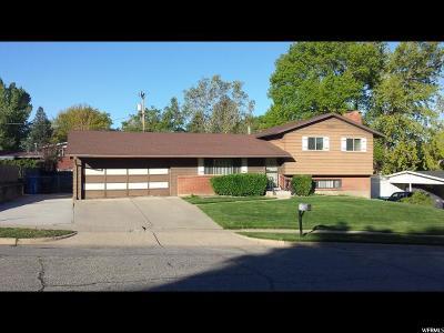 South Ogden Single Family Home Under Contract: 4555 S Gramercy E
