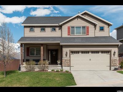 Draper Single Family Home Under Contract: 14953 S Winged Bluff Ln