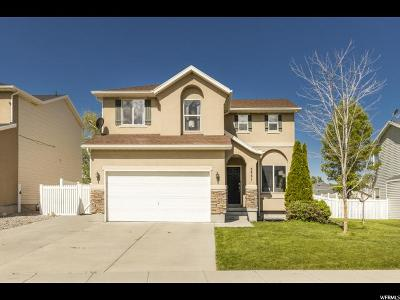 Stansbury Park Single Family Home Under Contract: 5441 N Ardennes Way W