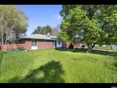 Holladay Single Family Home Under Contract: 5566 Edgewood Dr