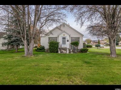 Heber City Single Family Home Under Contract: 489 S 300 E
