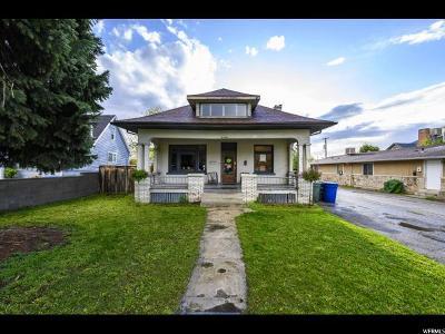 Sugar House Single Family Home For Sale: 2746 S 900 E