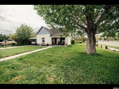 Nephi Single Family Home For Sale: 95 N 400 E