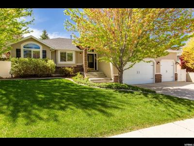 Sandy Single Family Home Under Contract: 1064 E Windy Peak Way S