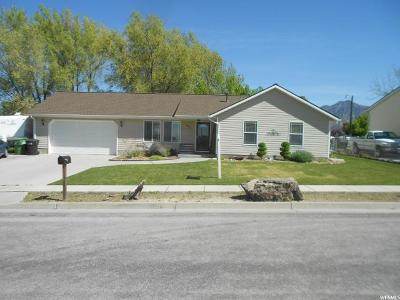 Brigham City Single Family Home Under Contract: 1026 W 725 S