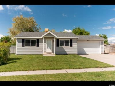 Roy Single Family Home Under Contract: 2634 W 3900 S
