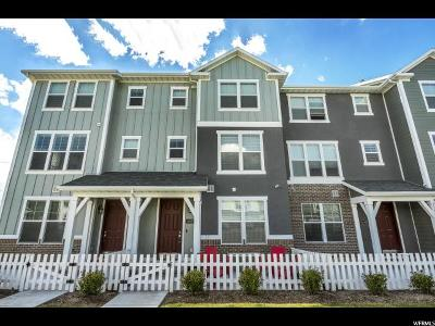Bluffdale Townhouse Under Contract: 14877 S Echo Canyon Ln
