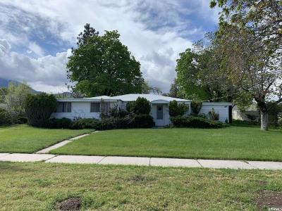 Tooele County Single Family Home Under Contract: 242 E 400 N