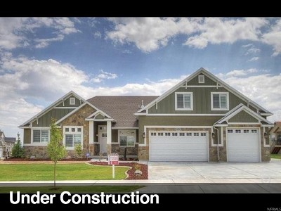 South Jordan Single Family Home For Sale: 1034 W River Pass Cv S #3