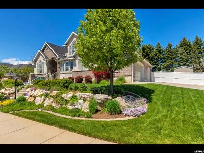 Layton Single Family Home Under Contract: 2849 E 3025 N