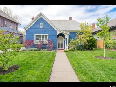 Ogden Single Family Home Under Contract: 662 E 24th St S