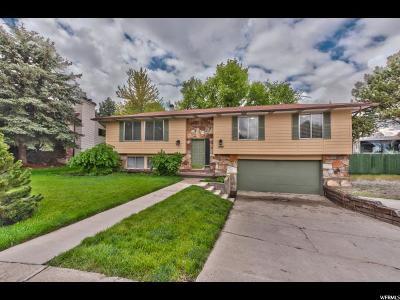 Cottonwood Heights Single Family Home For Sale: 1480 E Mountmanor Cir S