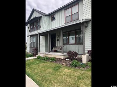 South Jordan Townhouse For Sale: 4776 South Jordan Pkwy