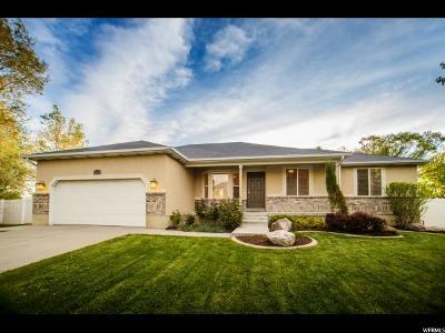 Draper Single Family Home Under Contract: 134 E Rawlins Cir