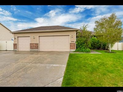 Eagle Mountain Single Family Home Under Contract: 3806 N Old Salty Way