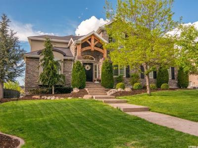 Draper Single Family Home For Sale: 2051 E Tivoli Hills S