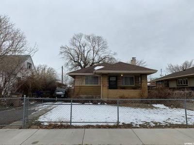 Salt Lake City Single Family Home Under Contract: 511 N 1200 West W