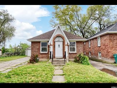 Ogden Single Family Home Under Contract: 3231 S Kiesel