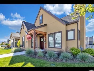 South Jordan Single Family Home For Sale: 4858 W Raphanus Ln #105
