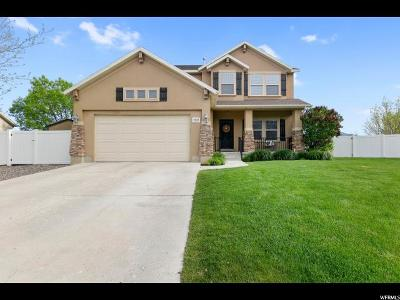 Spanish Fork Single Family Home Under Contract: 2517 E 1580 S