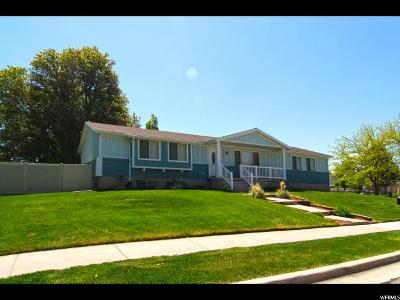 West Point Single Family Home For Sale: 3139 W 1050 N