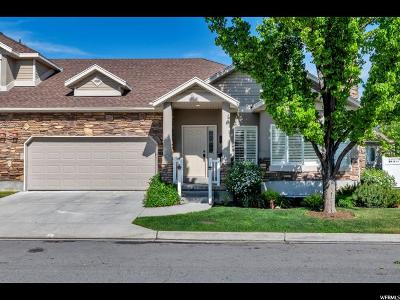 Layton Townhouse For Sale: 664 E Clearwater Dr S