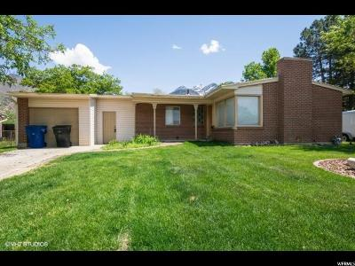 Cottonwood Heights Single Family Home For Sale: 7189 S 2870 E