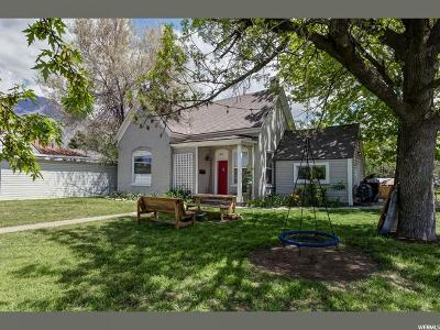 Springville Single Family Home Under Contract: 525 S 200 E