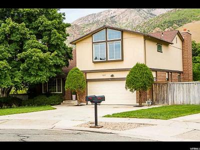 Cottonwood Heights Single Family Home Under Contract: 7255 S Winesap Ct E