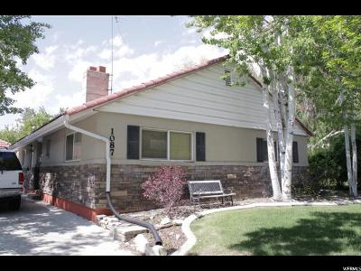 Provo Single Family Home For Sale: 1087 E Briar Ave