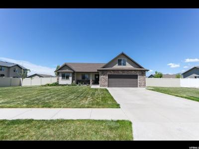 Nibley Single Family Home Under Contract: 1435 W 3390 S