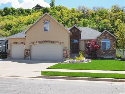 South Weber Single Family Home For Sale: 2509 E 8300 S