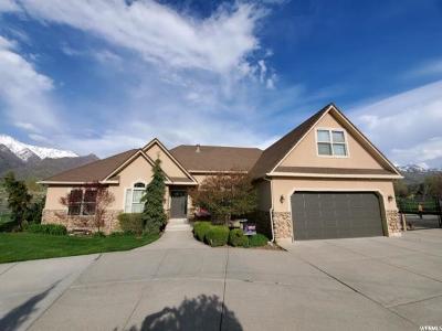 South Weber Single Family Home Under Contract: 7316 S 2050 E