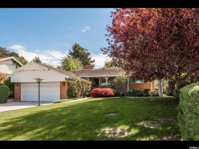 Salt Lake City Single Family Home For Sale: 3817 S Villa Dr