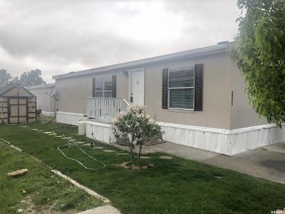 Tooele County Single Family Home For Sale: 1639 N 210 E