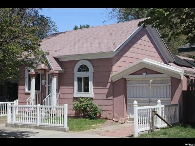 Ogden Single Family Home Under Contract: 2122 Jefferson Ave
