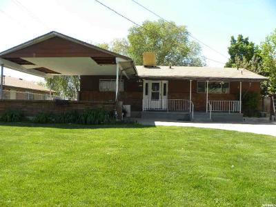 Orem Single Family Home Under Contract: 1145 N 100 W