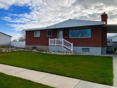Tremonton Single Family Home For Sale: 868 N 100 W