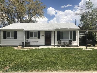 Tooele County Single Family Home Under Contract: 257 S 360 W