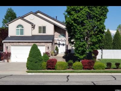 Clinton Single Family Home Under Contract: 1174 N 900 W