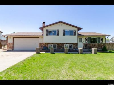 Clinton Single Family Home Under Contract: 563 W 1060 N