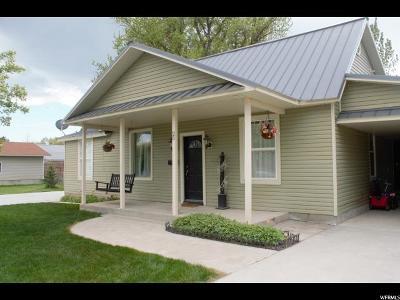 Preston Single Family Home Under Contract: 25 N 300 E