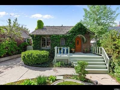 Salt Lake City Single Family Home For Sale: 1364 E Kensington Ave
