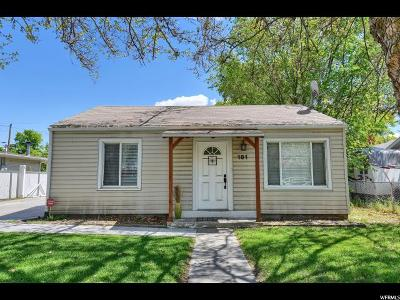 Layton Single Family Home Under Contract: 181 Flint St