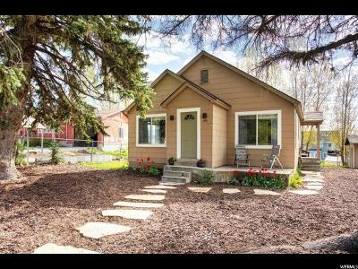 Midway Single Family Home For Sale: 195 S Center St W