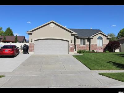 Clinton Single Family Home For Sale: 1992 N 2700 W